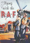 FLYING WITH THE RAF POSTCARD